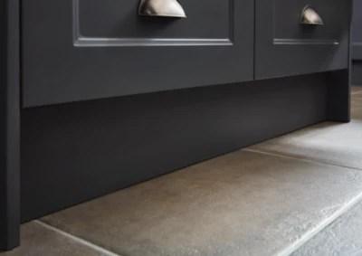 plinthe de cuisine goodhome artemisia gris h 15 cm x l 2 4 m x ep 16 mm