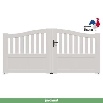 بارع جمجمة الحدود chapeaux de portail pvc