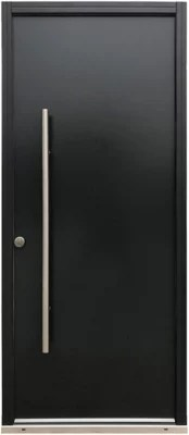 porte d entree acier toubkal 90 x h 215 cm poussant droit