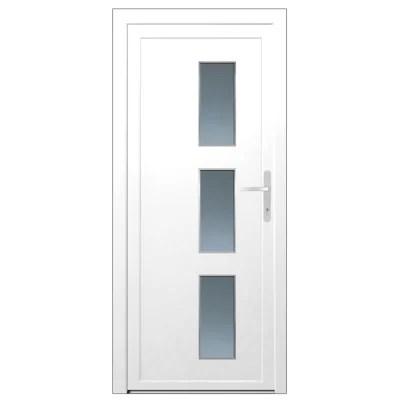porte d entree pvc denali blanc 90 x h 215 cm poussant gauche