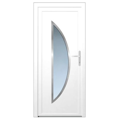 porte d entree pvc semisphera 215 x 90 cm poussant gauche