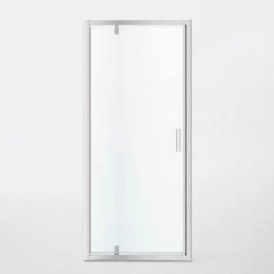 porte de douche pivotante goodhome beloya transparente 90 cm