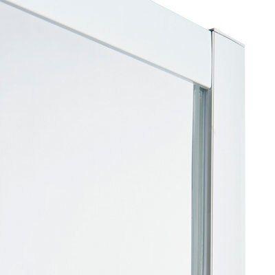 porte de douche pliante cooke lewis onega serigraphie 80 cm