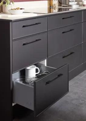 porte de meuble de cuisine goodhome pasilla noir l 59 7 cm x h 71 5 cm