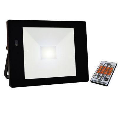 Projecteur Exterieur A Detection Tibelec Noir Led 32w Castorama