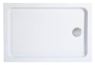 receveur a poser rectangulaire blanc cooke lewis lagan 80 x 120 cm