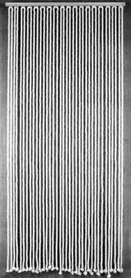 rideau de porte cordage 90 x 200 cm
