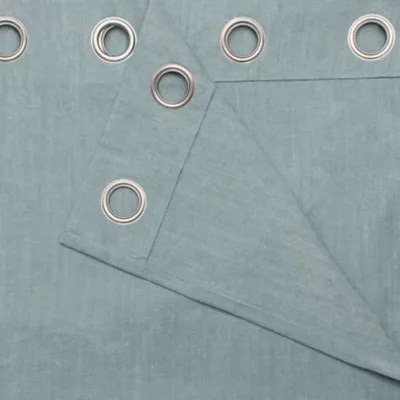 rideau goodhome pahea vert d eau 135 x 260 cm
