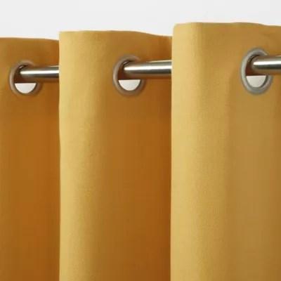 rideau goodhome taowa jaune 140 x 260 cm