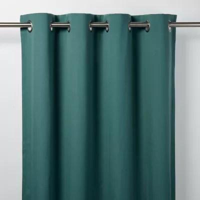 rideau goodhome taowa vert bleu 140 x 260 cm
