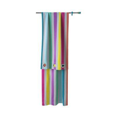 rideau roma raye multicolore 140 x 250 cm