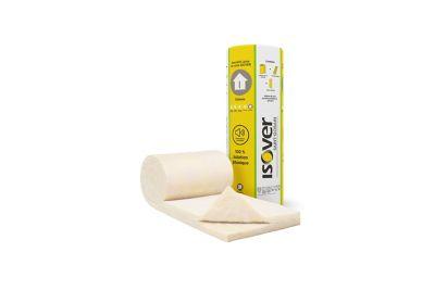 Panneau Laine De Coton Recycle Metisse 0 6 X 1 2 M Ep 45 Mm R 1 15 M K W Castorama