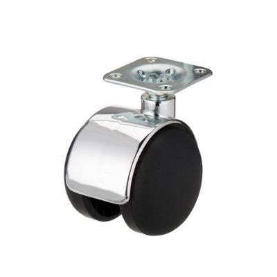 roulette pivotante a platine pivotante o50 mm charge max 40 kg