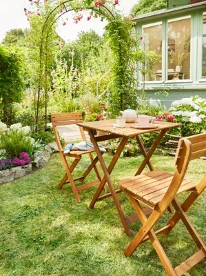 salon de jardin viginia table 2 chaises