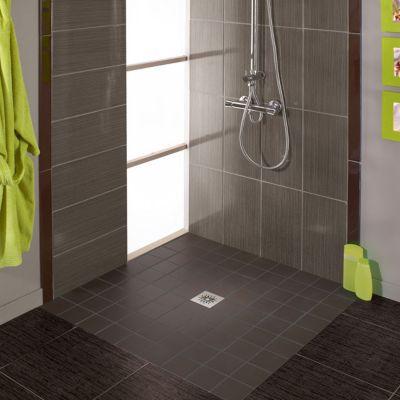 siphon de sol pour douche a l italienne wirquin express eau