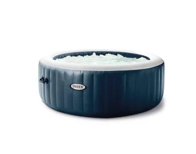 spa gonflable intex purespa a bulles blue navy 6 places