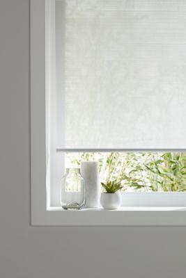 store enrouleur colours ist blanc lignes 45 x 195 cm