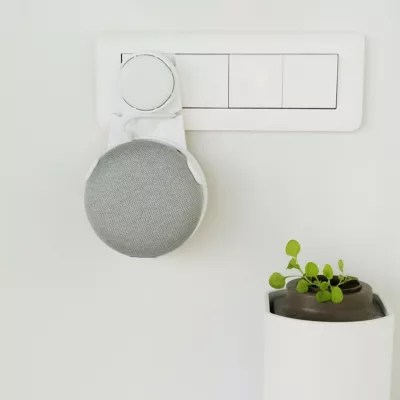 support mural pour google home mini