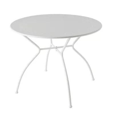 table de jardin vernon o95 cm gris nuage