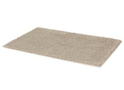 tapis de bain antiderapant beige 80 x 50 cm mincio