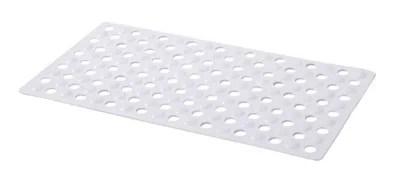 tapis de bain antiderapant blanc 40 x 70 cm