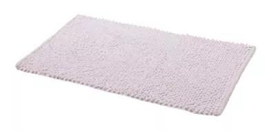tapis de bain antiderapant blanc 50 x 80 cm chanza