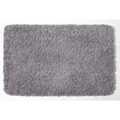 tapis de bain antiderapant gris 50 x 80 cm brenton