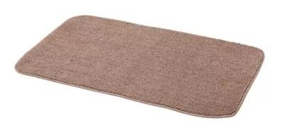 tapis de bain antiderapant taupe 50 x 80 cm davoli