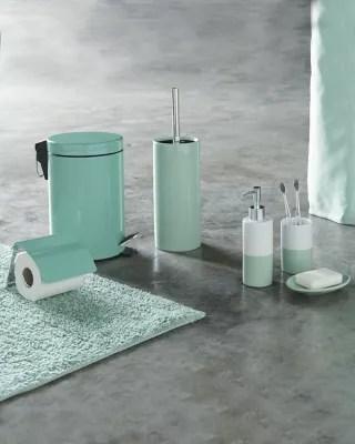 tapis de bain diani vert 50 x 80 cm