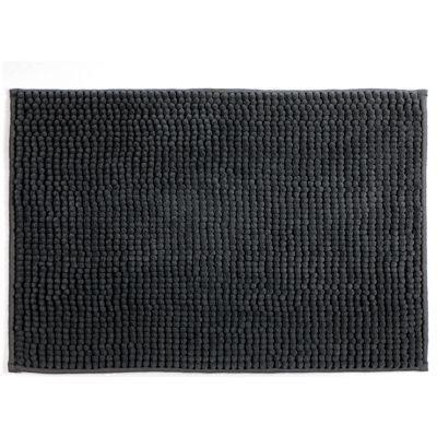 tapis de bain gris 40 x 60 cm