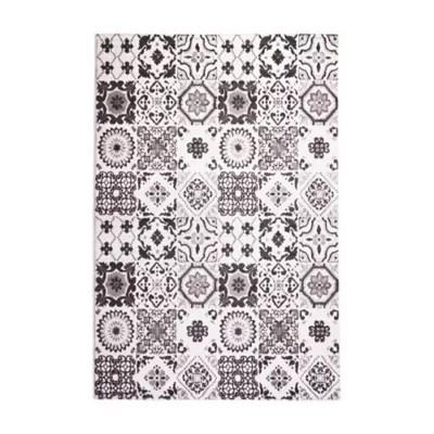 tapis memento carreaux 150 x 200 cm