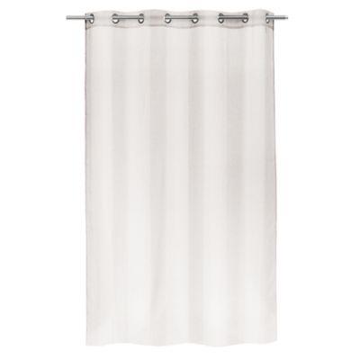 voilage bali blanc 140 x 240 cm