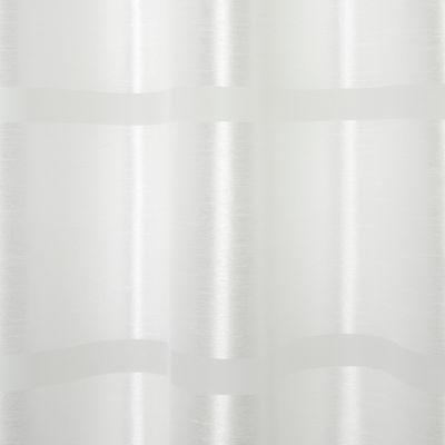 voilage goodhome dokkle blanc 140 x 300 cm