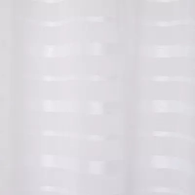 voilage goodhome wakea blanc 140 x 260 cm