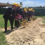 Golden shovels start airport project