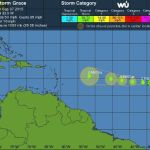 Tropical Storm Grace rolls across Atlantic
