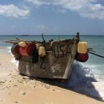 Beached Cuban boat irritates residents