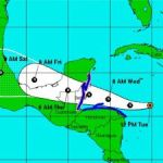 TS Earl set to pass well south of Cayman
