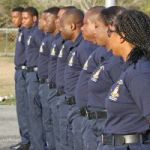 Prison recruits learn how to use force