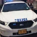 Driver smashes up police car in hit-and-run