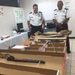 Amnesty nets 18 guns and nearly 900 bullets