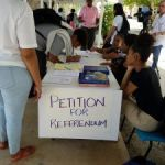 Referendum petition steadily growing