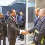 Premier's delegation begins Brussels meetings