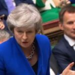 May still in job but refuses to rule out 'no deal Brexit'