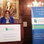 Cayman fighting tax evasion, Rivers tells New Yorkers