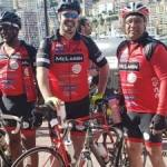 Cop, OC and Bush join premier in St Tropez ride