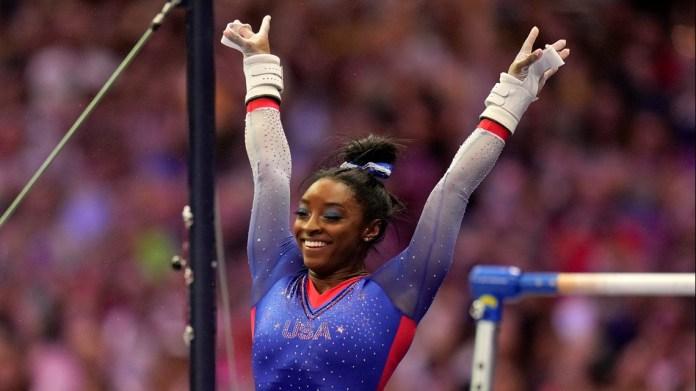 Biles, Lee, Chiles lead way at US gymnastics trials