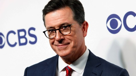 Stephen Colbert says he's going back before live audiences
