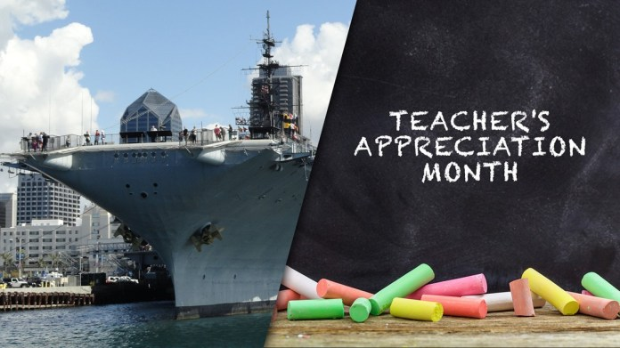 San Diego County teachers can go to the USS Midway Museum for free