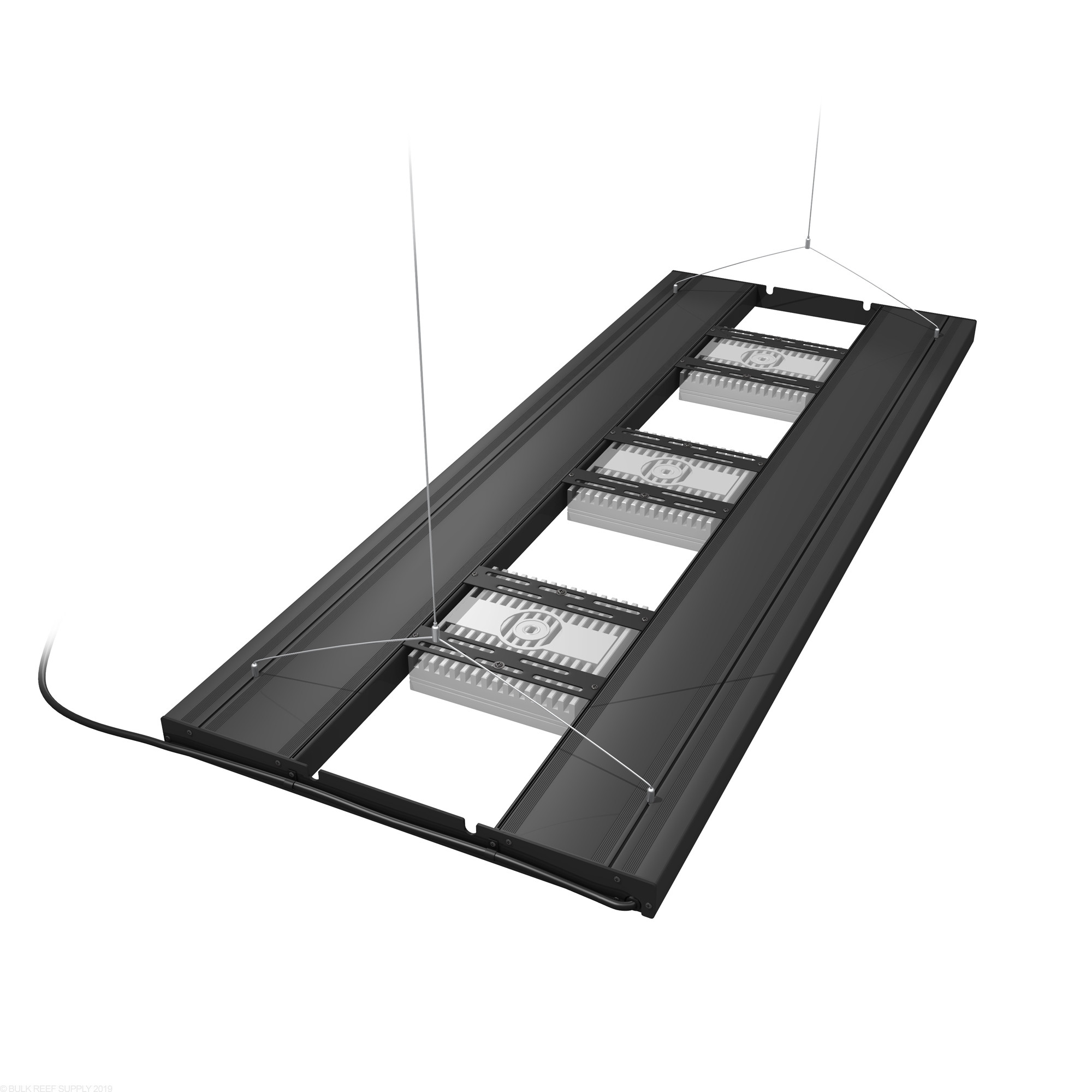 hight resolution of 36 hybrid t5ho 4x39w fixture with led mounting system aquatic life ecotech mounts